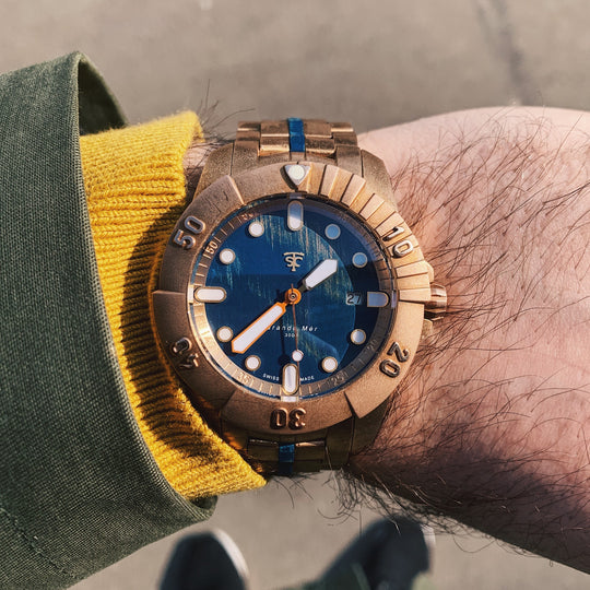 Coolest Bronze Watch of 2021? ...Yep