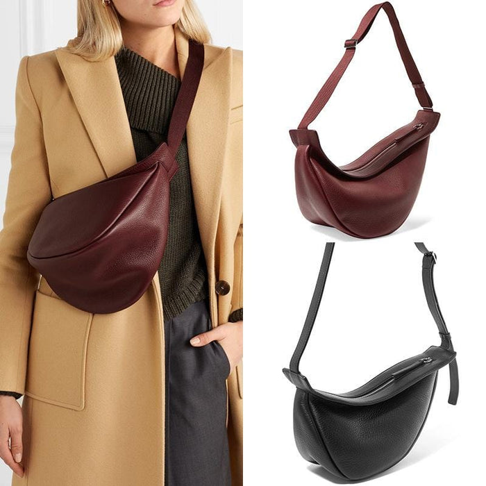 50%OFF TO day Designer Slouchy Banana Cross Body Bag