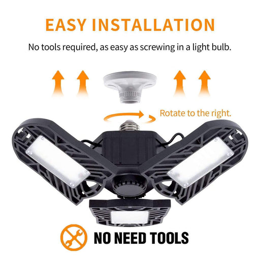 50% off LED Three-Leaf Garage Light [UL FCC CSA CERTIFIED]