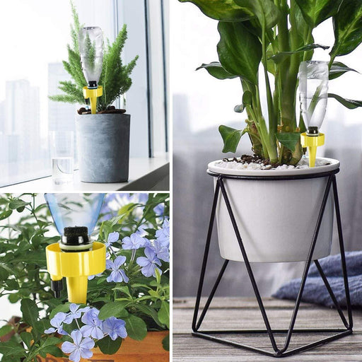 (50% OFF TODAY)Self Watering Spikes, Adjustable Plant Watering