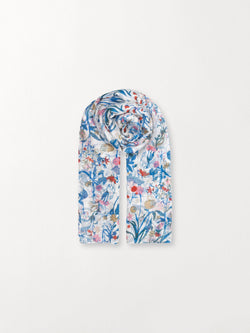 Becksöndergaard, Francisco Scarf - Blue, outlet flash sale, outlet flash sale
