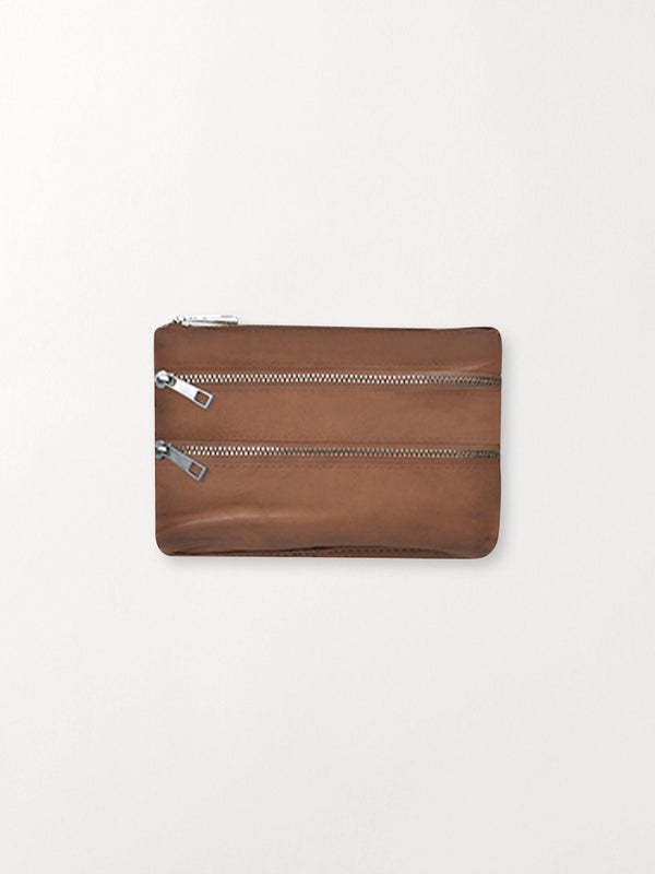 Becksöndergaard, Veg Sally Pouch - Brown Sugar, wallets, accessories, wallets, accessories
