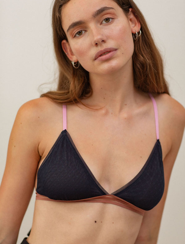 Becksöndergaard, Sheer Tassie Bra - Night Sky, outlet, outlet, sale, sale