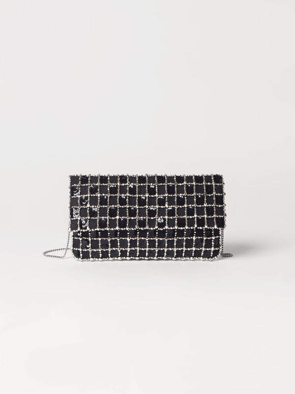 Becksöndergaard, Paradi Check Bag - Black, outlet flash sale, outlet flash sale, mid season sale, mid season sale, sale, sale