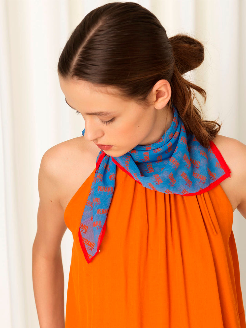 Becksöndergaard, Verano Scarf - Light Blue, outlet, outlet
