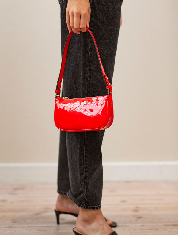 Becksöndergaard, Patent Moni Bag  - Grenadine, bags, outlet flash sale, outlet flash sale, sale, sale, bags