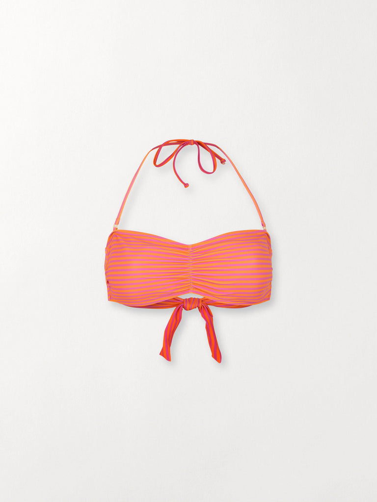 Becksöndergaard, Bandeau Simple stripe - Sachet Pink, outlet