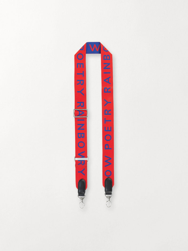 Becksöndergaard, Poetry Strap  - Fiery Red, outlet