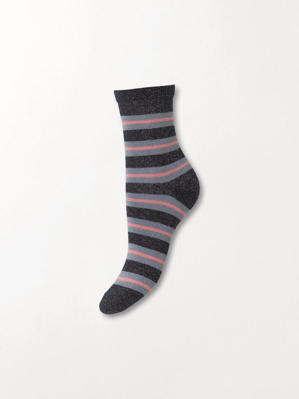 Becksöndergaard, Dalea Big Stripe Sock - Night Sky, gifts, sale, sale