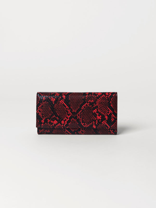Becksöndergaard, Snake Kantay Wallet  - Grenadine, accessories, wallets, accessories, wallets, accessories