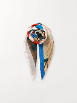 Becksöndergaard, Soho Organic Scarf - Multi Col., outlet, outlet