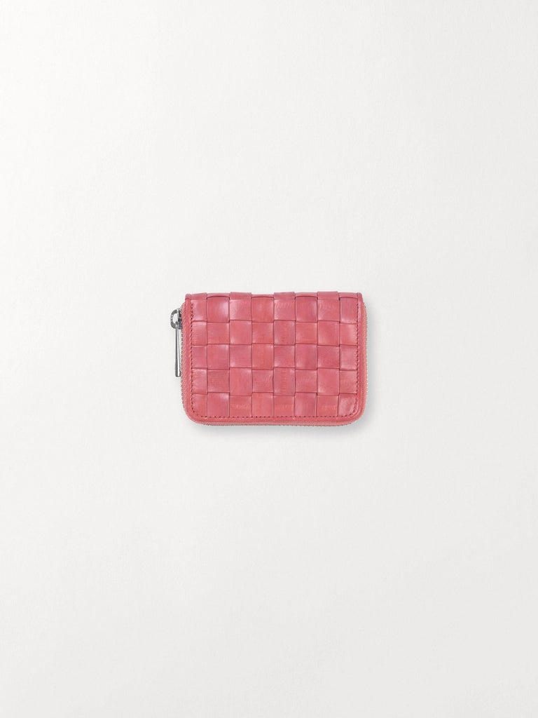 Becksöndergaard, Braidy Purse  - Peach Pink, accessories, eelskin wallets, wallets, accessories, sale