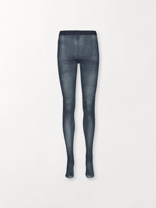 Becksöndergaard, Glitz Toro Tights  - Dazzling Blue, socks, party