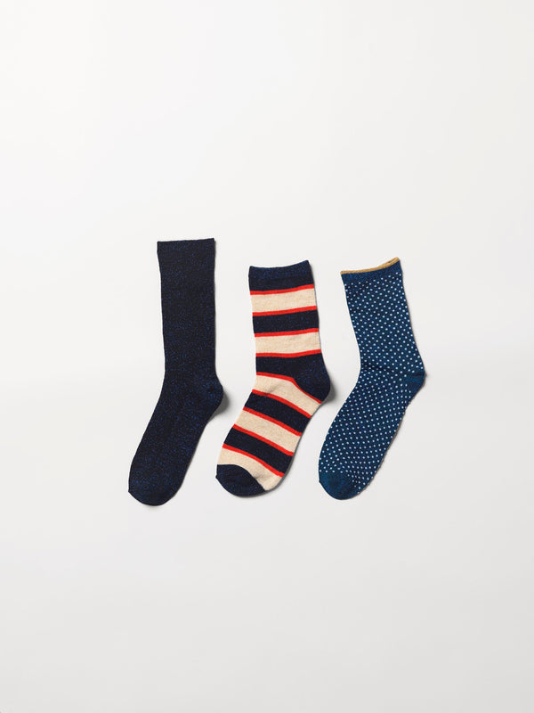 Becksöndergaard, Sock giftbox 3 pack nr. 4* - Mix Colour, gifts, gifts