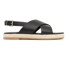 Basque Espadrille — Black