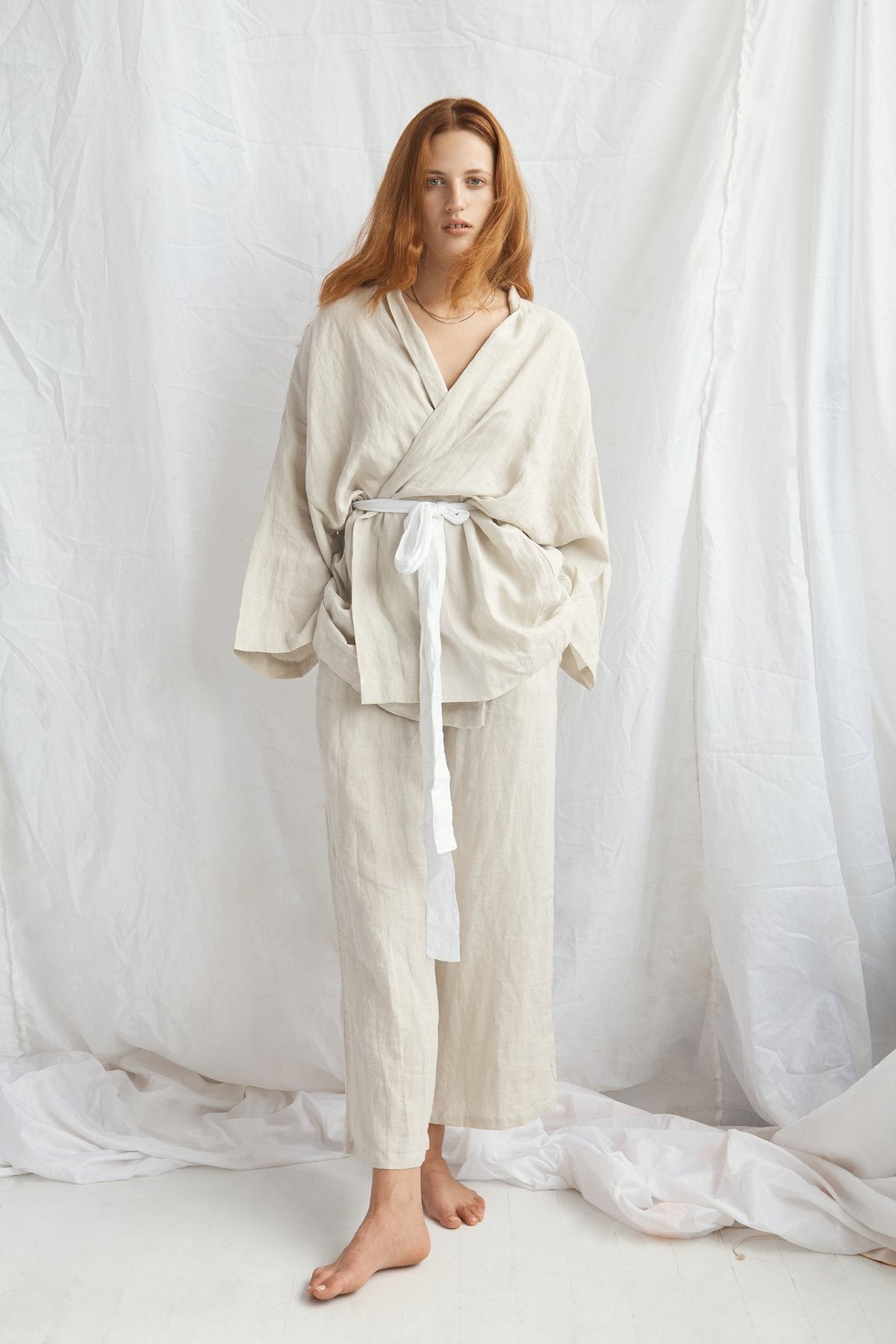 The 01 Oatmeal Loungewear Set