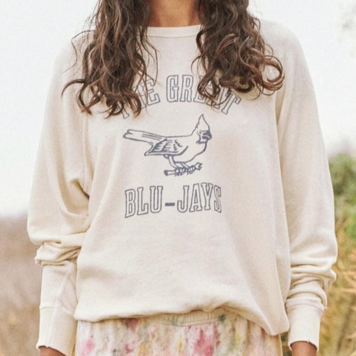 The College Sweatshirt w/ Blue Jay Graphic