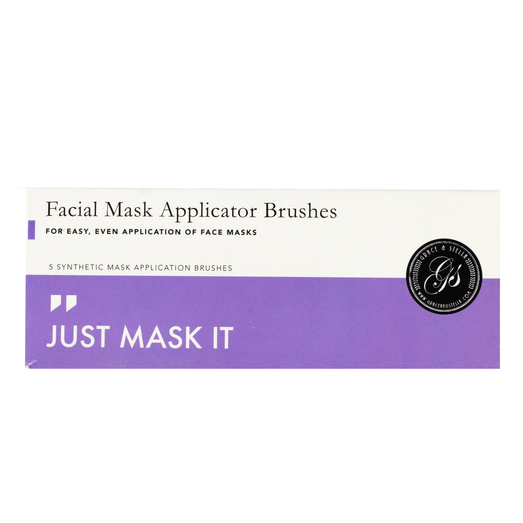 grace & stella Facial Mask Applicator Brushes Regular