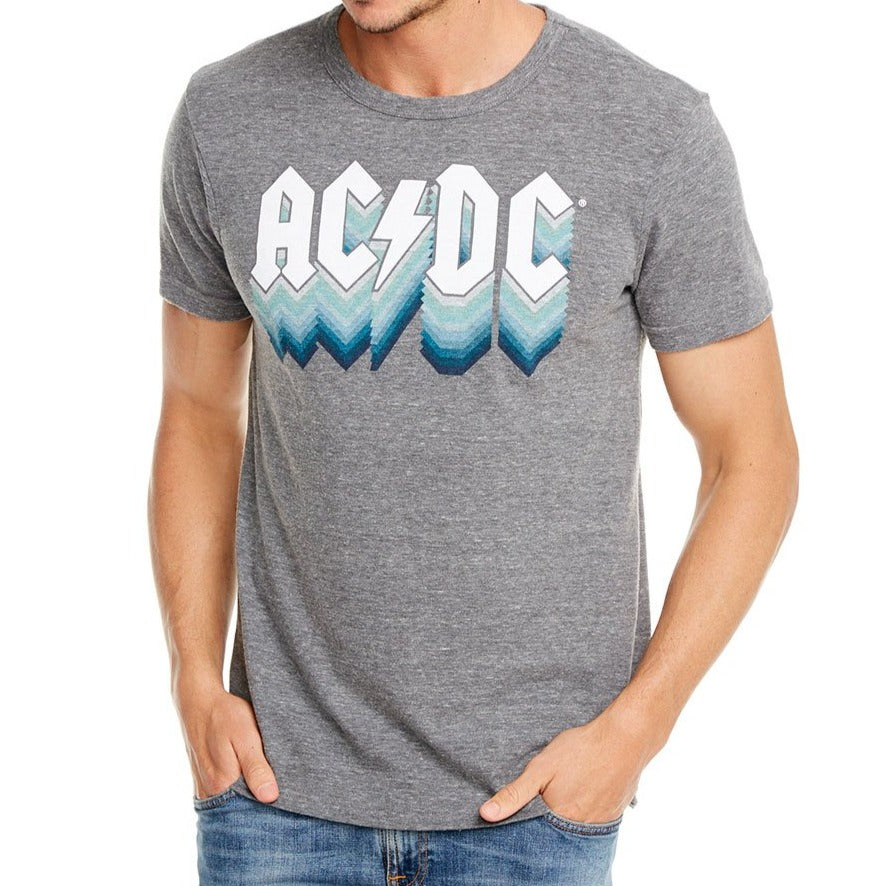 ACDC Faded Logo Crew Neck Tee