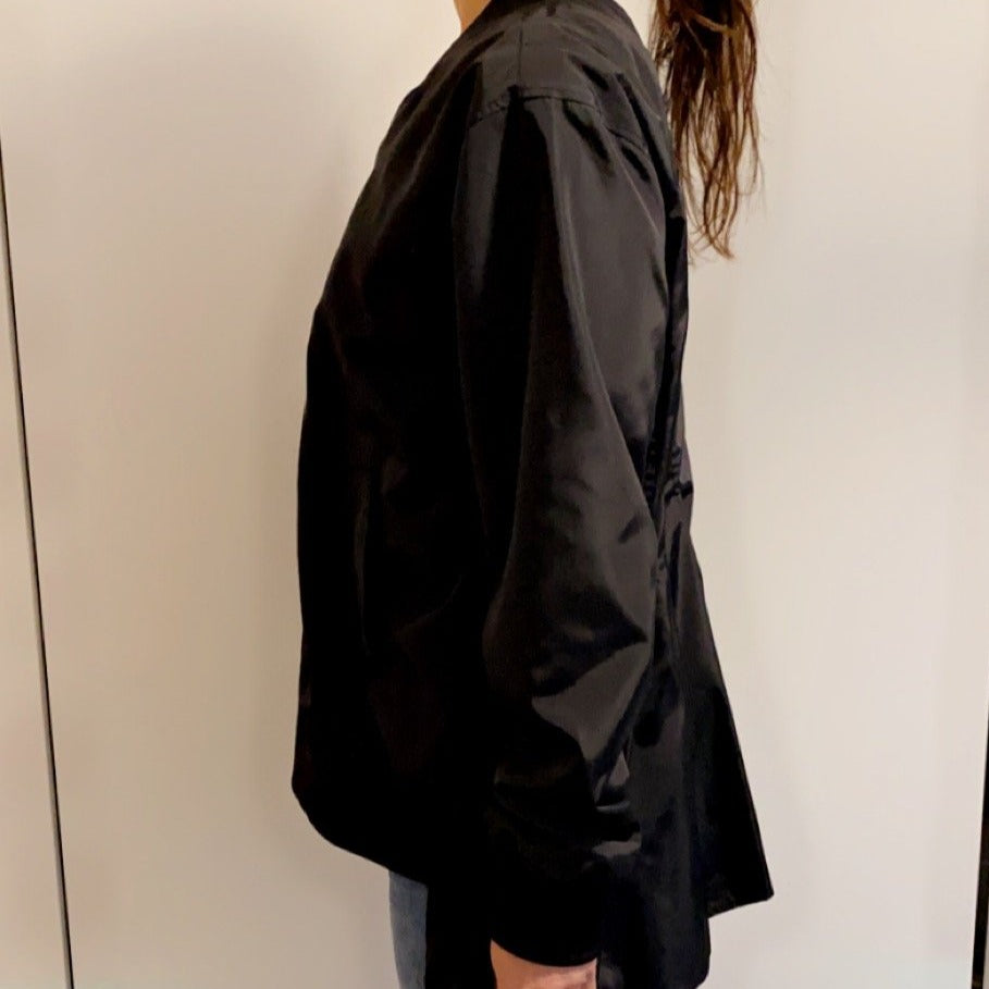 Paneled Bomber Jacket