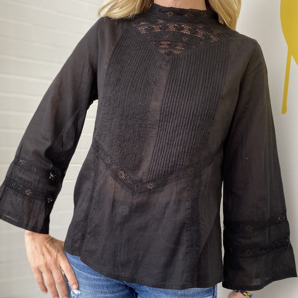Voile Lace Tunic
