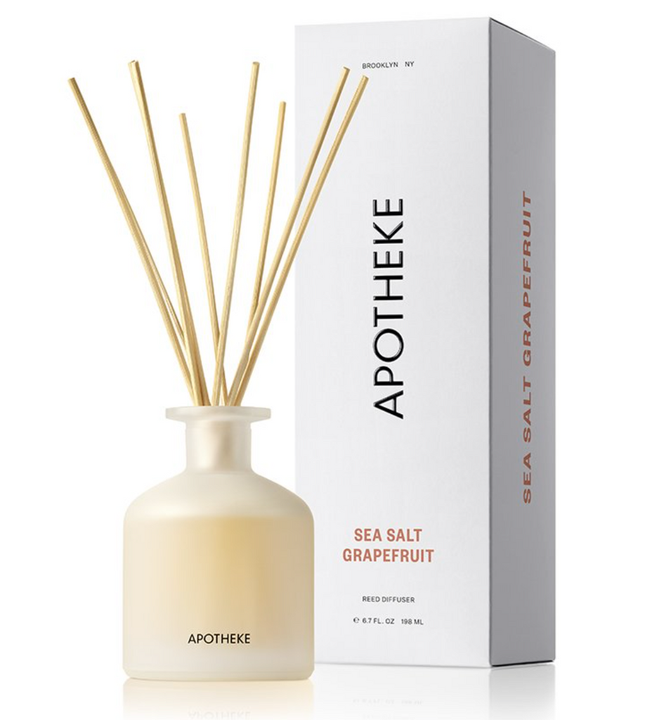 APOTHEKE Sea Salt Grapefruit Reed Diffuser Regular