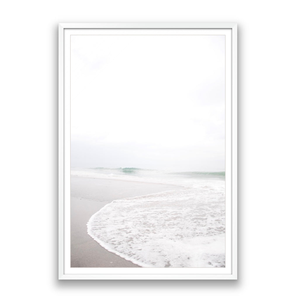 Reaching Wave Framed Photo
