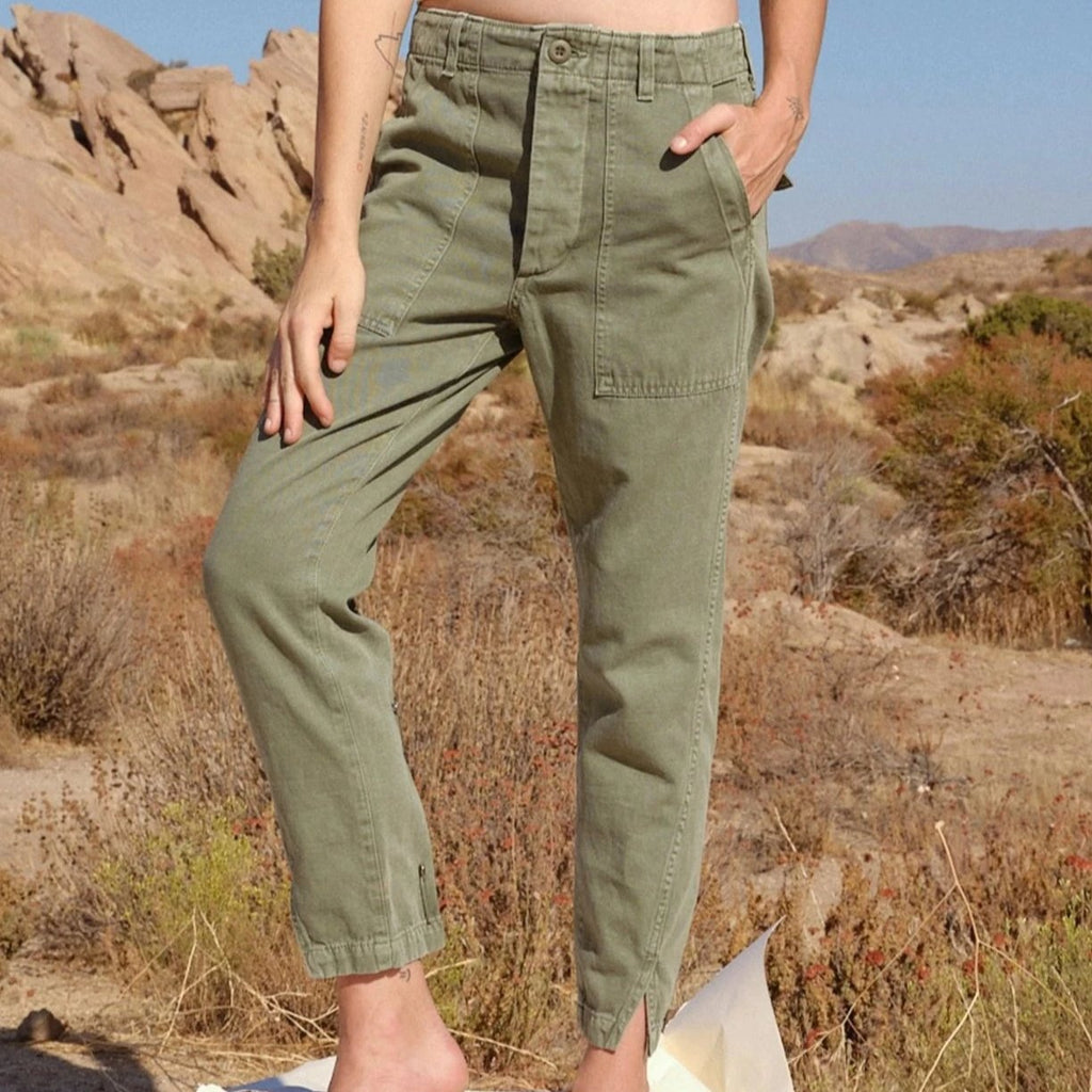 Army Twist Army Green
