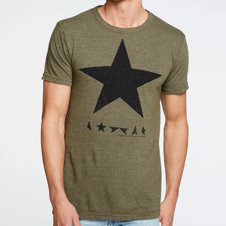 David Bowie Black Star Crew Neck Tee