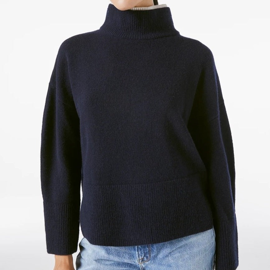 High Low Boxy Sweater