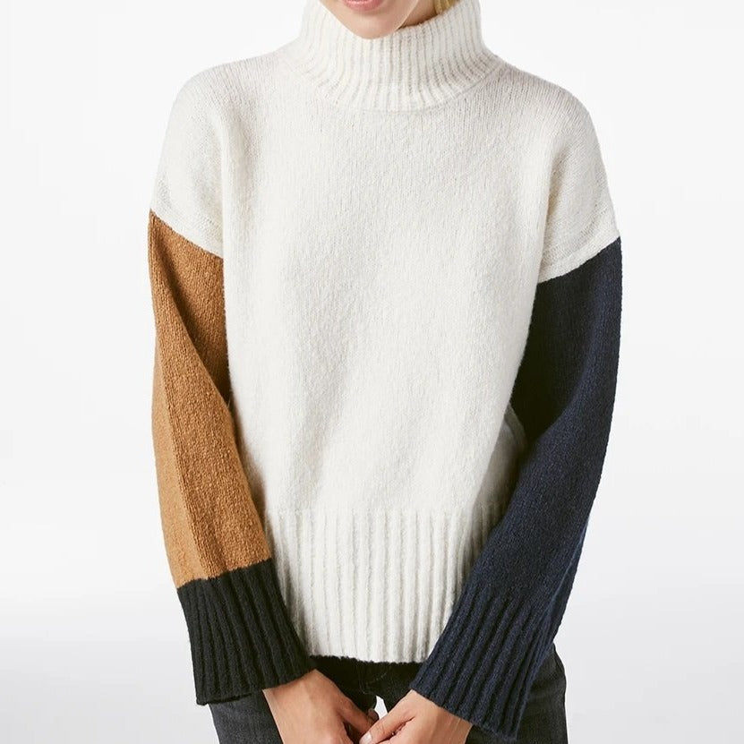 Color Blocked Sweater