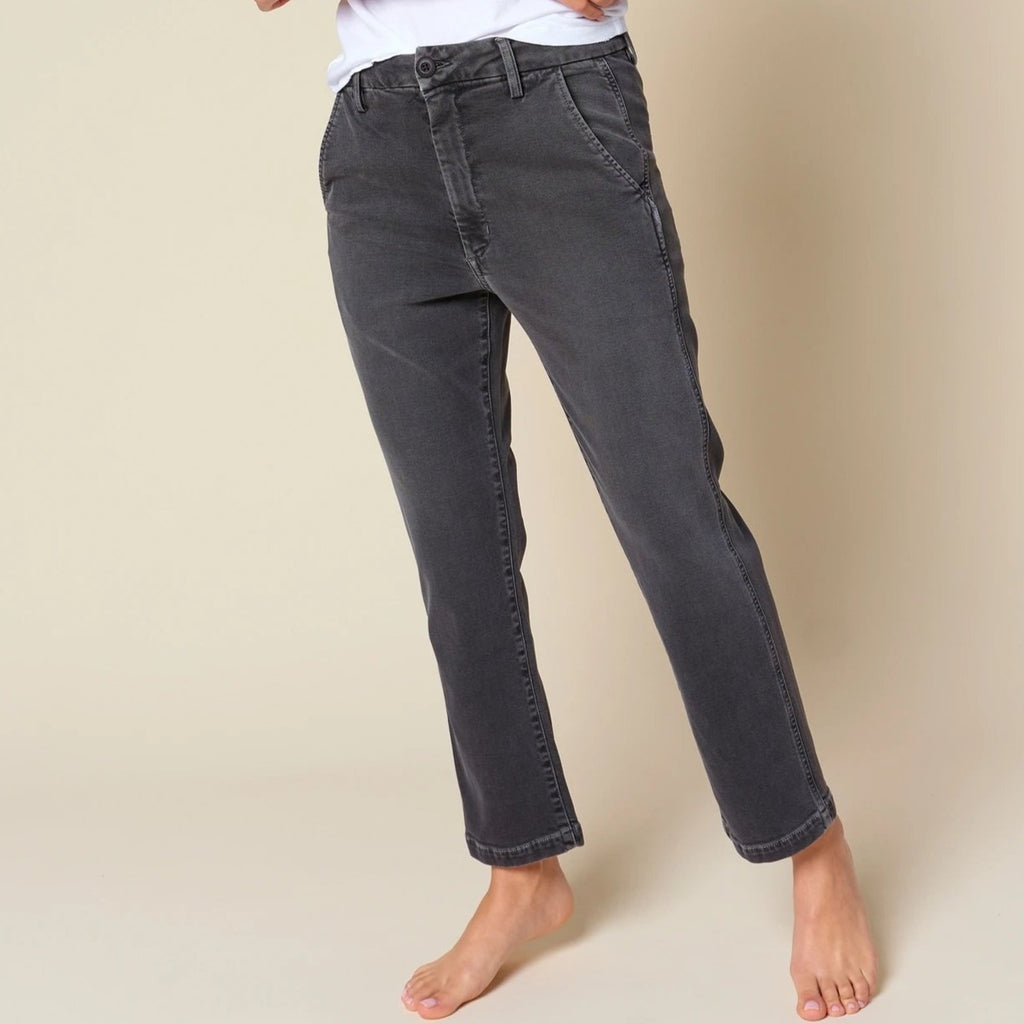 Easy Trouser Washed Black