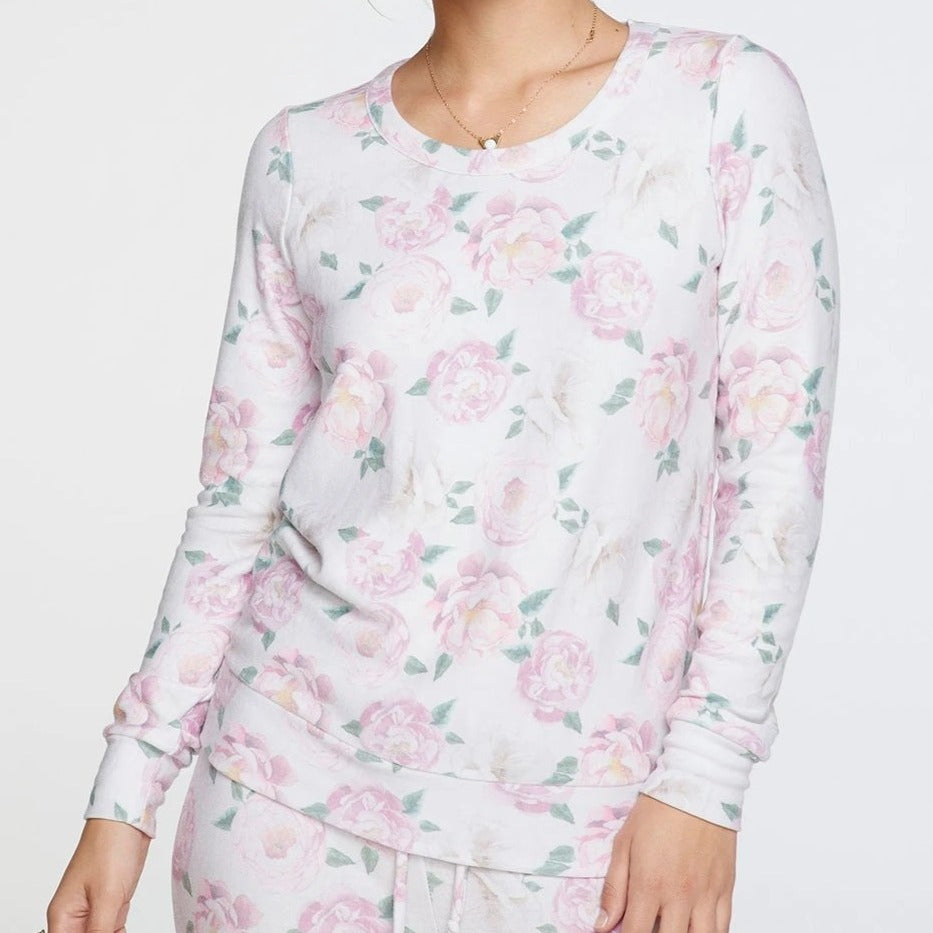 Floral Party Cozy Long Sleeve