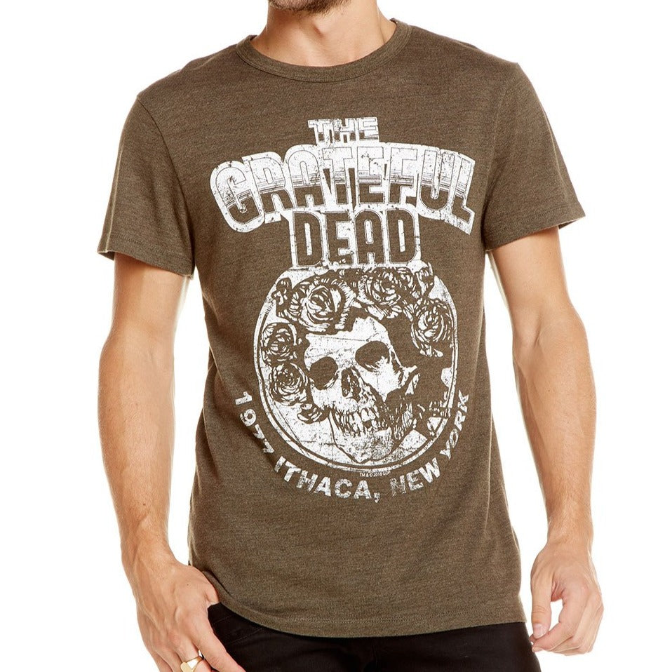 Grateful Dead 1977 Ithaca Crew Neck Tee