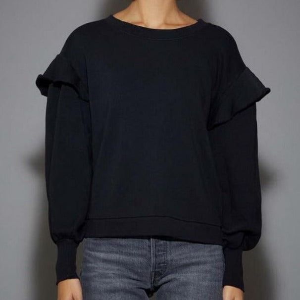 Helena Balloon Sleeve Sweatshirt