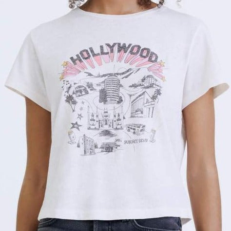 """Hollywood"" Classic Tee"