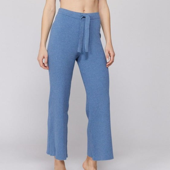 Belted Rib Pant