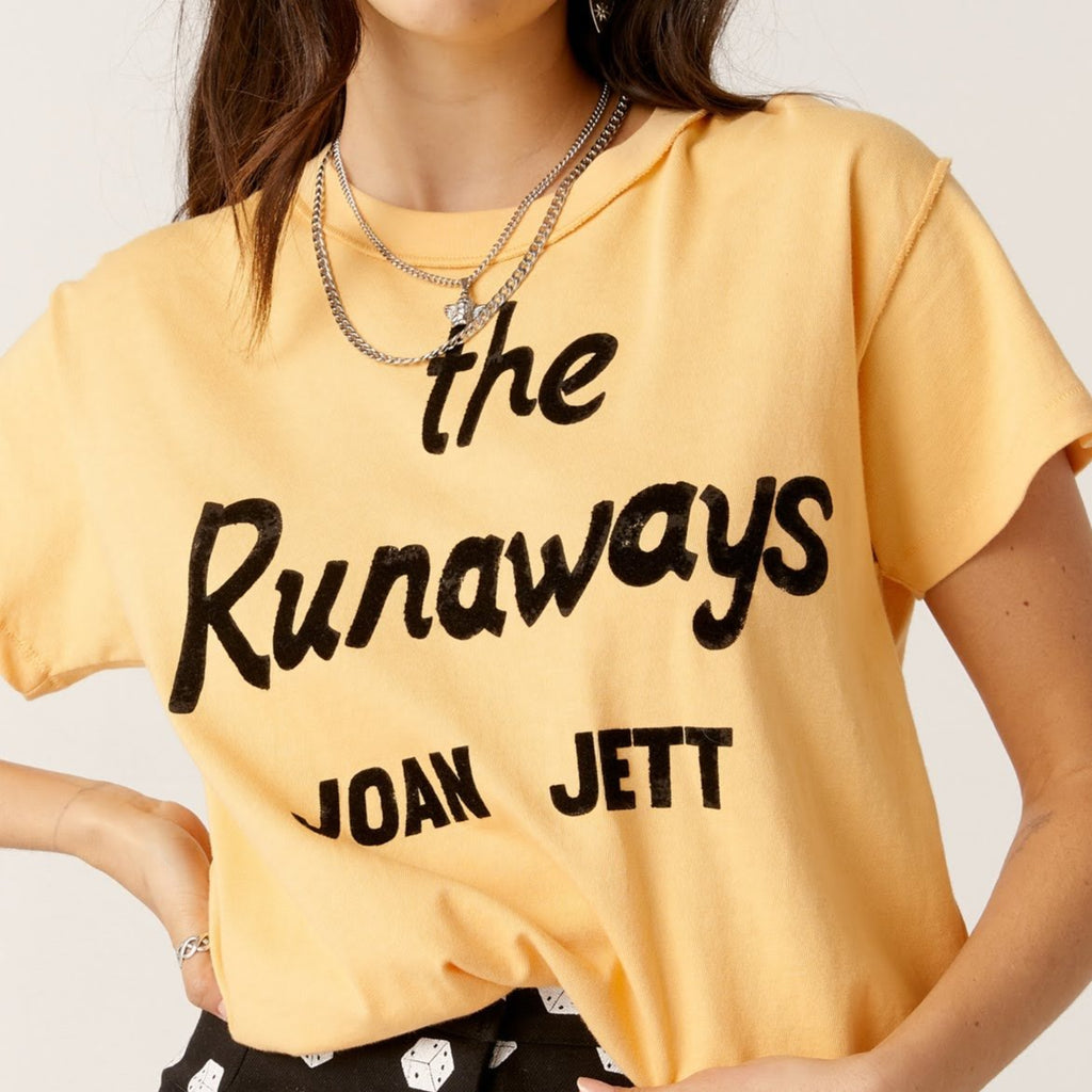 Joan Jett Reverse Girlfriend Tee