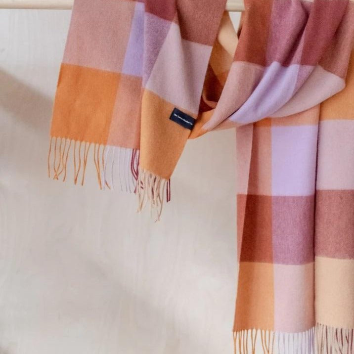 Lambswool Oversized Scarf