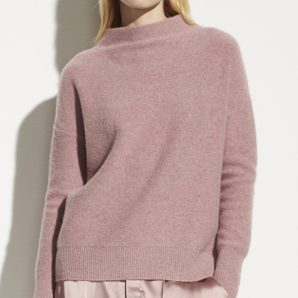 Boiled Funnel Neck Pullover