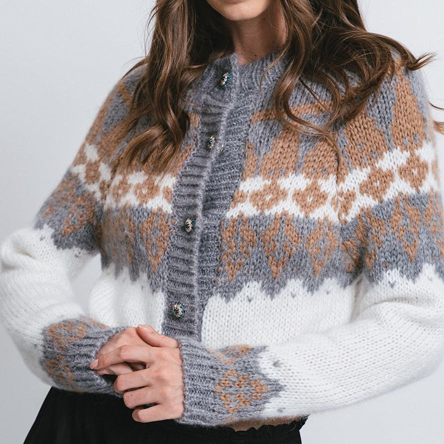 Norwegian Short Cardigan