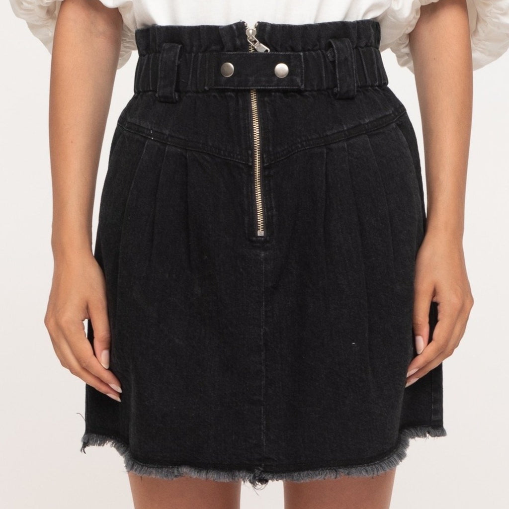 Phillipa Denim Skirt