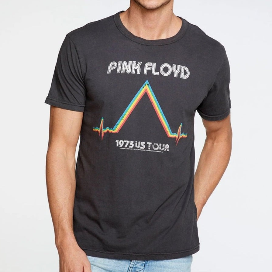 Pink Floyd 1973 US Tour Crew Neck Tee