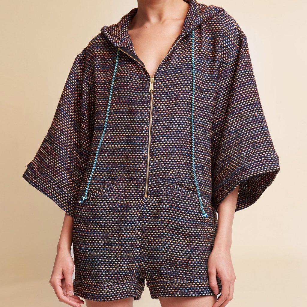 Playa Baja Tweed Romper