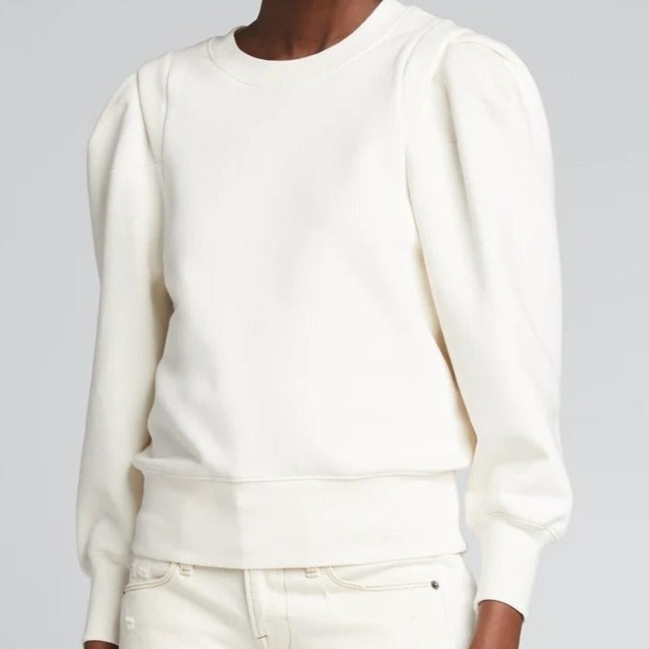 Pleated Panel Sweatshirt