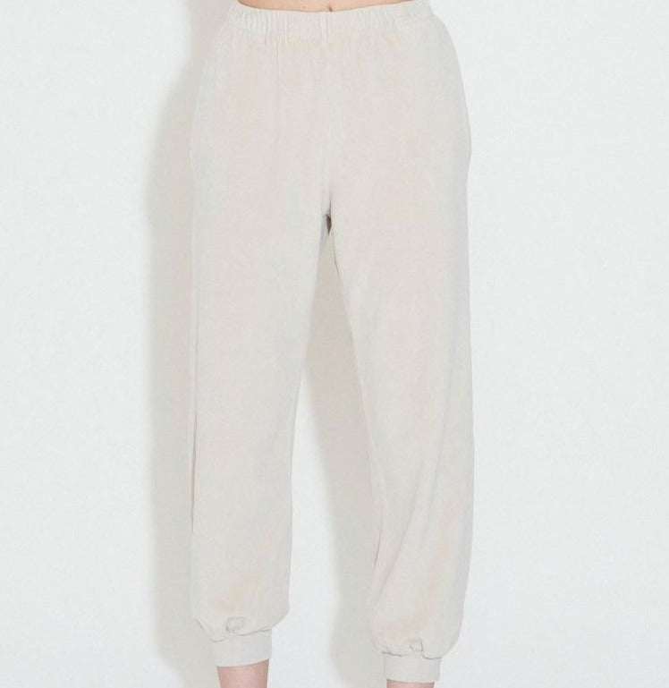 High Rise Pocket Pants Velour