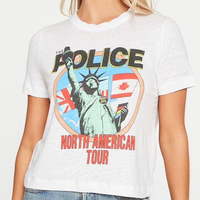 The Police Cropped Easy Tee