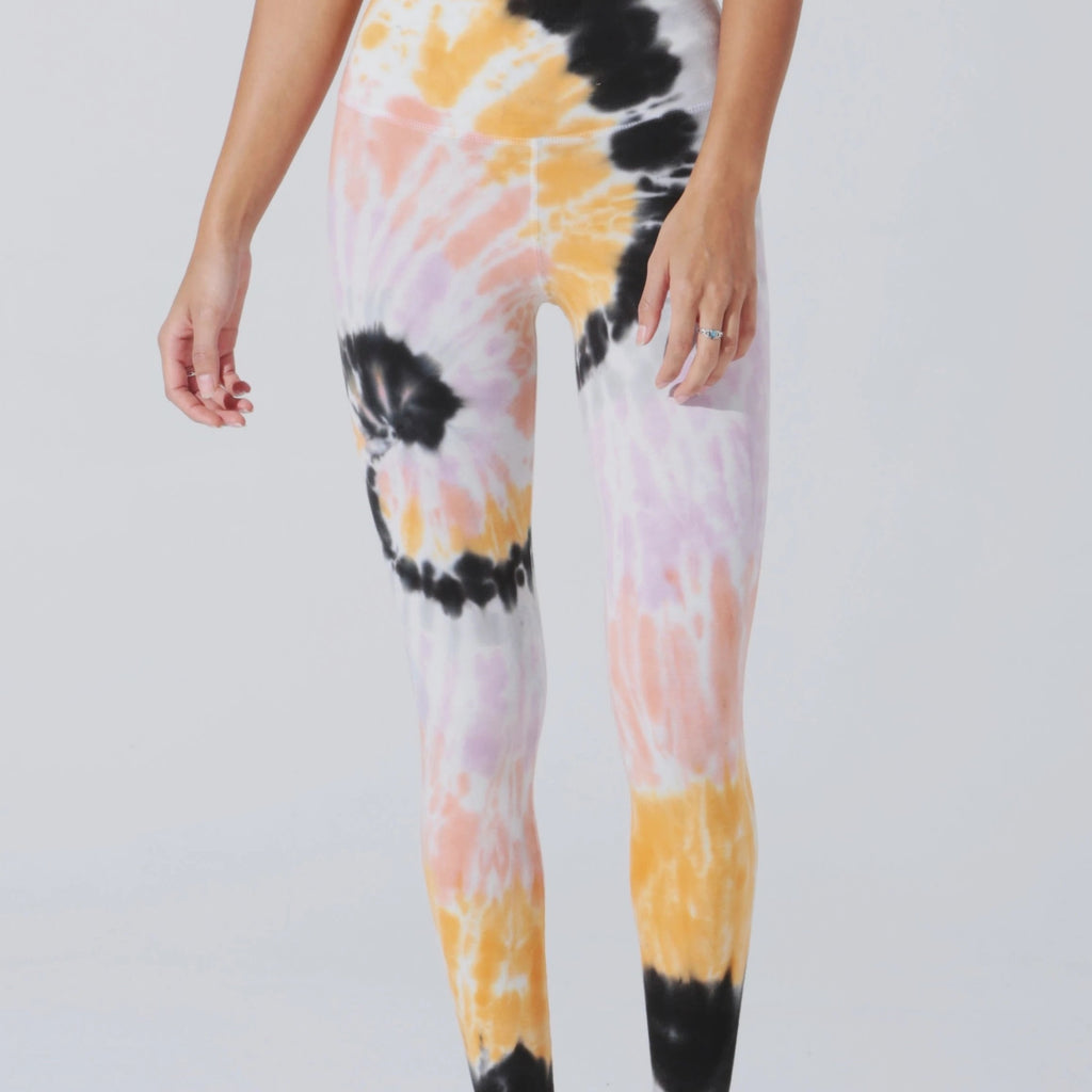 Sunset Legging Wave Wash