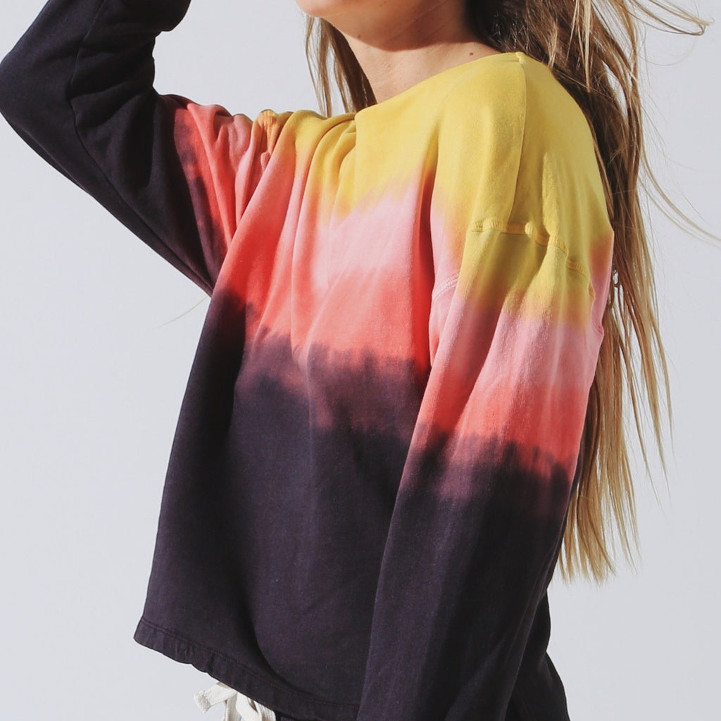 Tahoe Pullover Sunset Ombre