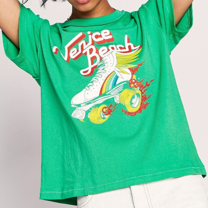 Venice Beach Reverse Girlfriend Tee